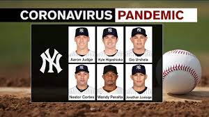 6 Yankees to test positive for COVID-19 ...
