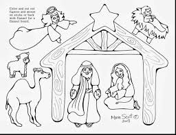 Small Picture Best Nativity Coloring Pages Printable Ideas New Printable