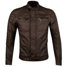 belstaff black weybridge leather look biker jacket