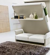 Smart Furniture Like A Transformer Small Family Wallbed Bachelor Custom Smart Furniture Design