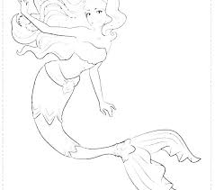 Mermaid Pictures To Color Clip Arts Purple Mermaid Color Vector