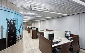 Corporate office interiors Workstation Office Interiors Cinnamon Design Studio Real Lines