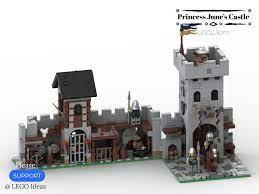Princess June's Castle - my LEGO Ideas Project 07 | Lego, Lego design, Lego  castle