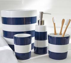 Navy Blue Bathroom Accessories