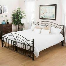 Iron King Size Beds & Bed Frames for sale   eBay