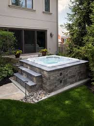 mesmerizing hot tub patio ideas to