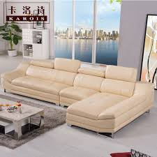corner furniture for living room. factory selling high quality genuine leather sofa section corner home furniture for living room
