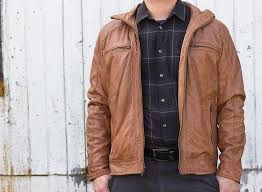 wilsons leather black rivet distressed leather moto jacket
