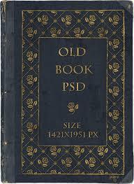 old book psd by jojo ojoj
