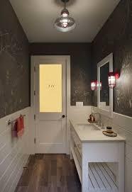 chalkboard wall bathroom transitional