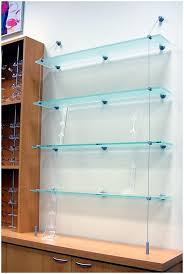 ... Medium Image for Hanging Glass Shelf Hardware Outwaters Easy To Install  Cable Suspended Glass Shelf Suspended