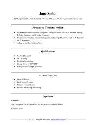 Sample Resume For Writer Template Resume Writing Examples Sample Resumes Hdwriting A Cover 6