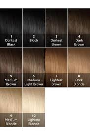 Medium Brown Hair Colour Chart Hair Color Chart Hair Extension Chart And Hair Weave Color