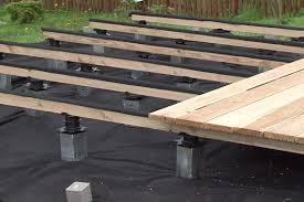 Nivrem Com Poser Une Terrasse En Bois Sur Plots Reglables Poser Une Terrasse En Bois Sur Plots Reglables