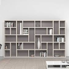 contemporary oak furniture modern style bookshelf modern wall bookshelf design