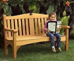 classic garden bench woodworking plan