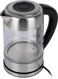 Купить <b>Чайник электрический KITFORT</b> КТ-624, серебристый в ...