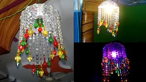 how to make lights hanging decoration door wall hanging decoration diy crystal chandelier