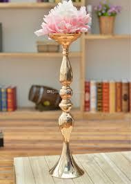 Großhandel Mental Eisen Tisch Kronleuchter Hochzeit Tischdekoration Ohne Den Blumen Und Blumenvase Stehen Von Sunhopewedding 26131 Auf