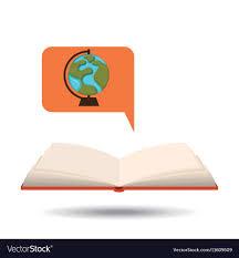 Graphic Design School Book Pdf Book Open Globe Map Concept School Graphic