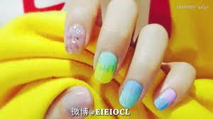 Eieio甜蜜的夏日冰淇淋美甲nail Art Lover Youtube