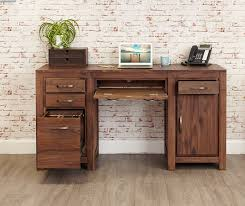 office desk wood. Wonderful Wood WALNUT  Oak Home Office Furniture Intended Desk Wood O