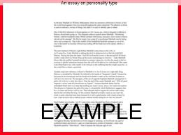 an essay on personality type term paper academic service an essay on personality type personality and appearance essay human personality is shaped in different