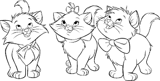 Aristocats Coloring Pages Books 100 Free And Printable