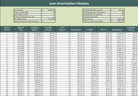 loan amortization spreadsheet template loan amortization schedule
