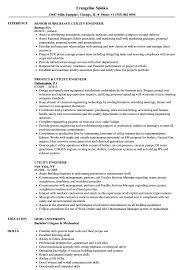 Good Engineering Resume Examples Utility Engineer Resume Samples Velvet Jobs 3