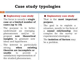 Qualitative Case Study Methodology  Study Design and