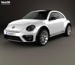 Volkswagen Beetle R-Line coupe 2016 3D model - Hum3D