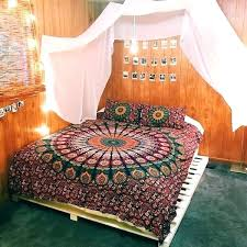 hippie bedding sets bohemian bed set hippie bedding sets amazing purple pink mandala queen size intended hippie bedding