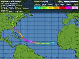 Major Hurricane Hugo Weather Underground