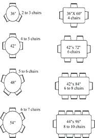 dining room tables sizes cool design ideas dining room table sizes round size for 6 tables