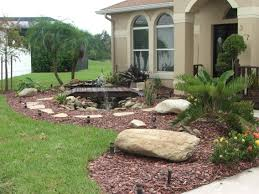 Lawn & Garden:Amazing Backyard Rock Garden Landscape Ideas Small Backyard  Rock Gardens Landscape With