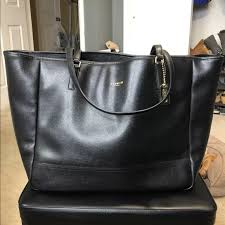 Coach 23822 Large Saffiano City Tote