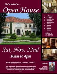 open house flyers template realtor open house flyer template open house flyer ideas