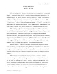 behavior modification pdf available