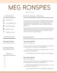 Free Fillable Resume Templates FREE FILLABLE RESUME TEMPLATE Mpronspies Resume Pinterest 24