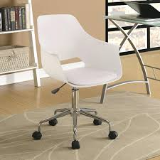 contemporary leather high office chair black. Contemporary Office Chair Coaster Chairs With Leatherette Seat Leather High Back . Black M