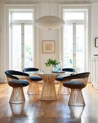 platner dining table gold plated  couch potato company