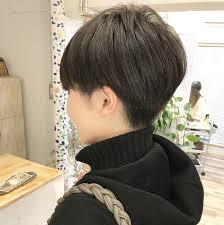 かりあげベリーショートでかっこいい女性に あさめツーブロックも 髪型