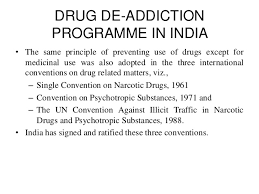 drug addiction in national committee on drug addiction deaddiction programme in 20 638