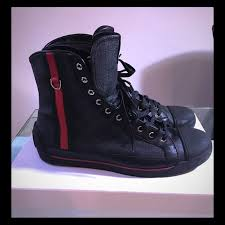 black gucci shoes for men high tops. gucci men\u0027s monogram high-top sneaker black, sz 11 black shoes for men high tops