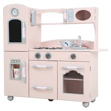 teamson kids wooden play kitchen set play kitchens at