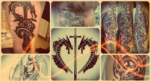 значение тату дракон и меч смысл история фото эскизы примеры