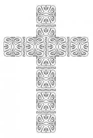 Small Picture Free Printable Cross Coloring Pages FeltMagnet