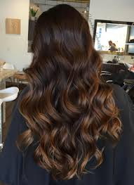creative dark brown hair color highlights ideas 20