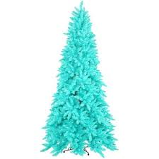 Blue Christmas Tree Artificial Christmas Tree Turquoise Ashley Pre lit Tree  3ft x 26in